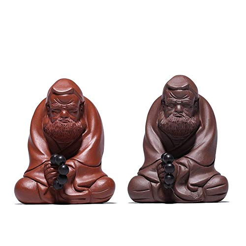 Tetera Té De Arcilla Púrpura Piezas para Jugar para Mascotas Zhuni Ancestors Dharma Zen Ceremonia del Té Té Adornos para Mascotas (Tamaño: Purple Mud)