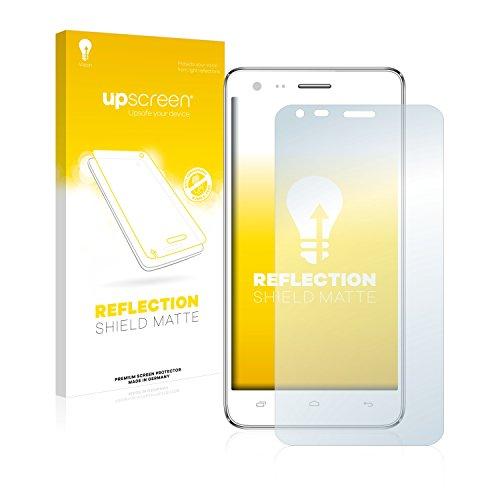 upscreen Entspiegelungs-Schutzfolie kompatibel mit Kazam Trooper 2 (5.0) – Anti-Reflex Bildschirmschutz-Folie Matt