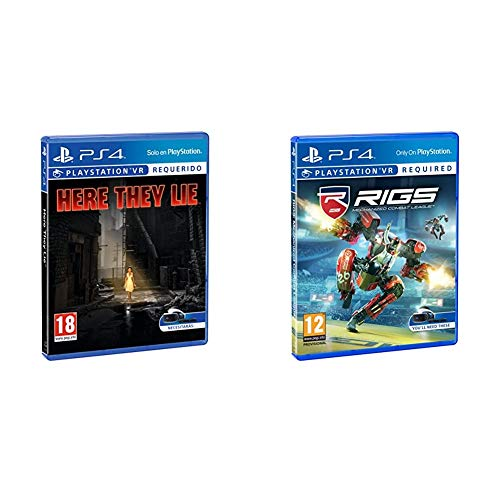 Sony CEE Games (New Gen) Here They Lie VR + RIGS: Mechanized Combat League VR