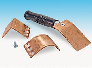Eastwood Welders Helper Supportive 3x3 Set Flat Curve Angle Copper Plates