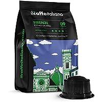 FRHOME - Caffitaly 100 Càpsulas compatibles - Il Caffè Italiano - Mezcla Firenze Intensidad 9