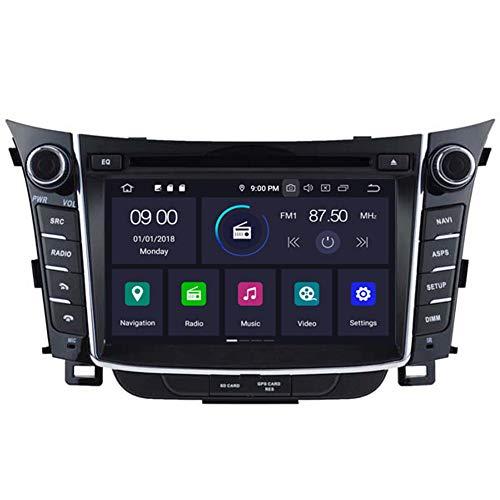 Autosion Android 9.0 64GB 4GB lecteur DVD de voiture GPS Radio Navigation Autoradio stéréo Wifi pour Hyundai i30 Elantra 2011 2012 2013 2014 2015 2016 2017