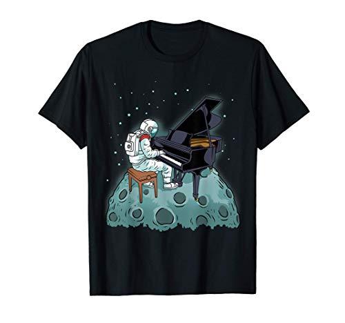 Grand Piano Shirt Kids Pianist Gift Astronaut Music Piano Ca