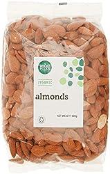 Whole Foods Market Organic Almonds, 500g