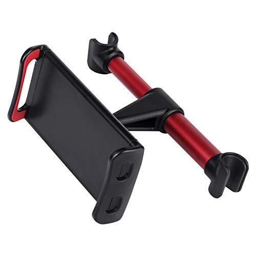 Fransande - Reposacabezas de asiento trasero giratorio ajustable a 360 grados, soporte de montaje extensible para asiento trasero, soporte de tablet, soporte de teléfono inteligente