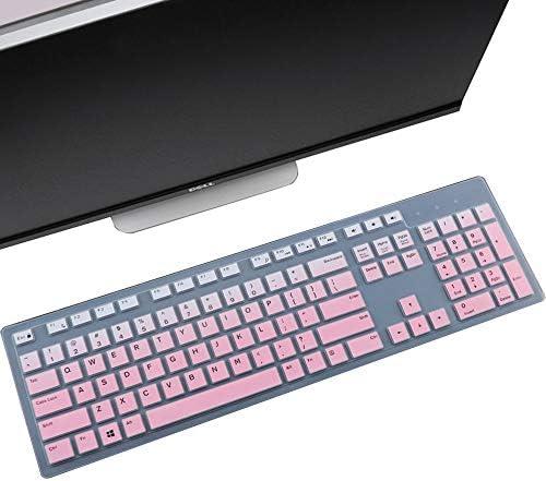 Keyboard Cover Skin Fit Dell KM636 Wireless Keyboard Dell KB216 Wired Keyboard Dell Optiplex product image