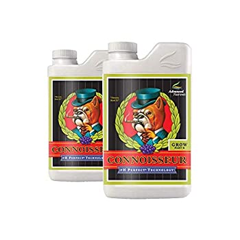 Advanced Nutrients 1680-14AB pH Perfect Connoisseur Grow Part A+B Soil Amendments 1 L Fertilizer 1 Liter