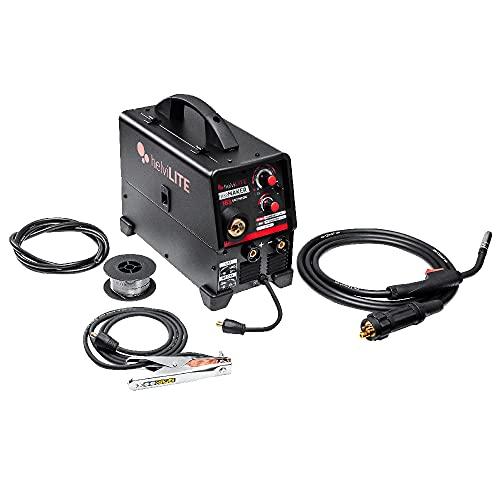 helviLITE 99820056 FreeMaker 183-Soldadora Inverter multiproceso con Accesorios, Negro
