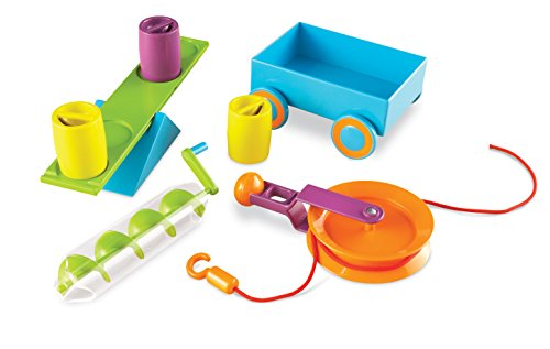 Learning Resources LER2824 STEM - Simple Machines Activity Set