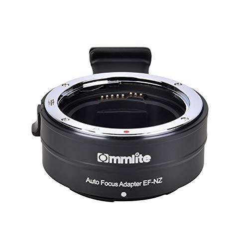 Commlite cm-EF-NZ Elektronischer Autofokus EF-Z Objektiv Adapter- EF EF-S Objektiv auf Z-Mount-Spiegelreflex Kamera Z7 Z6 Z50