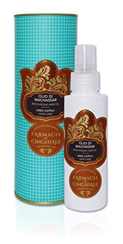 Machassar Oil Hair Line emoliente, nutritivo y fortalecedor cabello áspero y tratado 200 ml