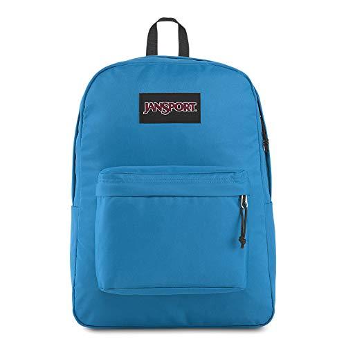 JanSport Black Label Superbreak Backpack - Lightweight School Bag, Blue Jay