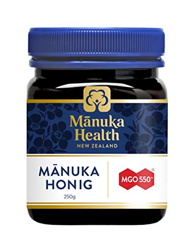 Manuka Health  MGO 550 Manuka Honey 100% Pure New Zealand Honey 88 Ounces