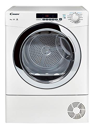 Candy Grand O'Vita GVSC10DCG Freestanding Condenser Tumble Dryer, Large Capacity, 10 kg Load, White