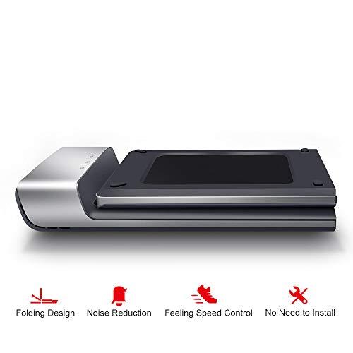 Houozon Intelligente elektrische joggingmachine voor loopbanden, geluidsarme borstelloze motor, snelheidsregeling, meervoudige veiligheidsbescherming, geschikt voor gebruik binnenshuis.