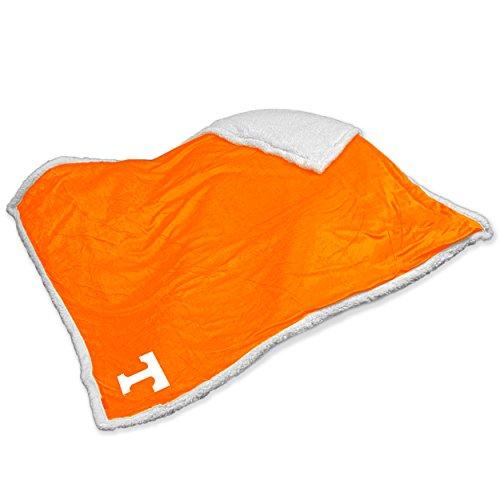 Logo Brands NCAA Tennessee Sherpa Throw Blanket