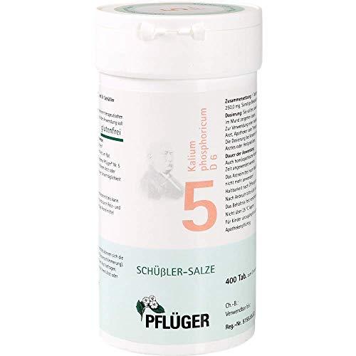 Pflüger Schussler Zouten Nr. 05 Kalium fosforicum D6, 400 stuks