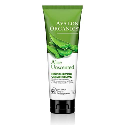 Avalon Crème de rasage hydratante - Enrichie en huile essentielle d'aloès et en bêta-glucane - 250 ml