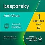 Kaspersky Anti-Virus 2021   1 Dispositivo   2 Años   PC   Código de activación enviado por email