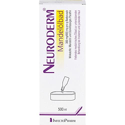 Neuroderm Mandelölbad bei trockener und juckender Haut, 500 ml Badezusatz