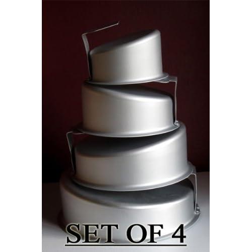 Round Topsy Turvy Cake Pans Set