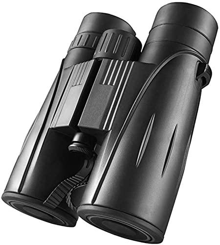Binoculares 8x42 Binocular Compacto de Alta Potencia Binocular portátil con luz Clara y débil para observación de Aves Viajes al Aire Libre Turismo Fútbol