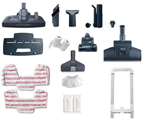 Polti PBEU0100 Unico MCV80 Total Clean & Turbo Aspirateur Multifonctions 3 en 1 et Nettoyeur Vapeur,...