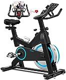 Best Spinning Bikes - TURUDU Spin Bike, Indoor Cycling Bike Stationary, Belt Review