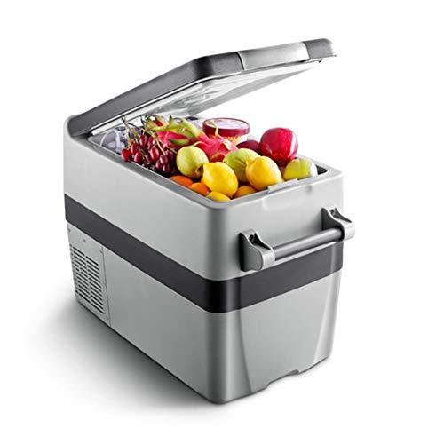 Koelkast voor in de auto, 40 liter, mini-koelkast met compressor