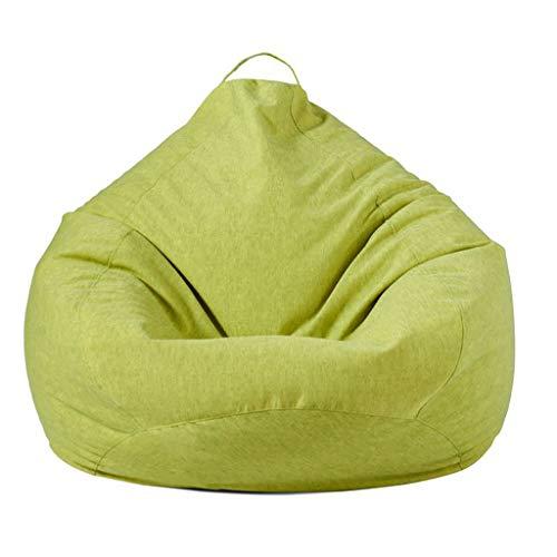 ZHHAOXINCH grote bonentas stoelen Bank, effen kleur eenvoudig ontwerp stoel ligstoel outdoor en binnen Lazy ligstoel voor volwassenen en kinderen met EPP vulling