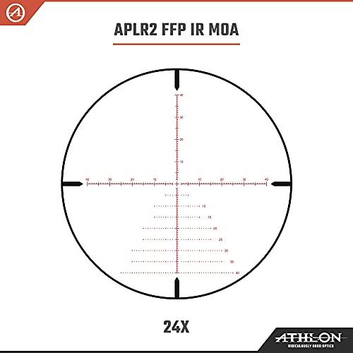 Athlon Optics Argos BTR GEN2 6-24x50 Riflescope - APLR2 FFP IR MOA, Black