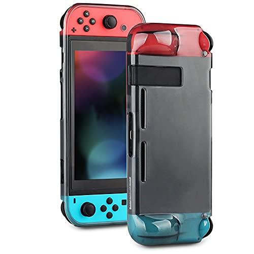 Coque de protection pour Nintendo Switch - Anti-chocs, anti-rayures - En polyuréthane, confortable, avec 8 embouts pour pouce