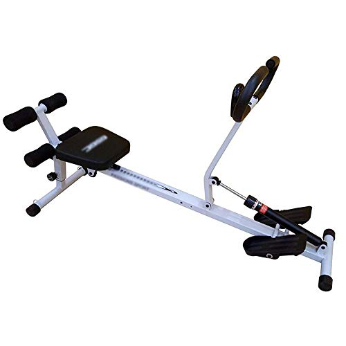 Pulley-R Rowing Machine for Home Use Foldable, Hydraulic Rowing Machine Indoor Rower Abdominal Fitness Equipment, 10…