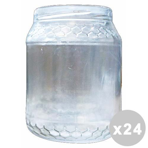 Glooke Selected Lot 24 Pot en Verre Miel 390 GR. (Bouchon de 70)