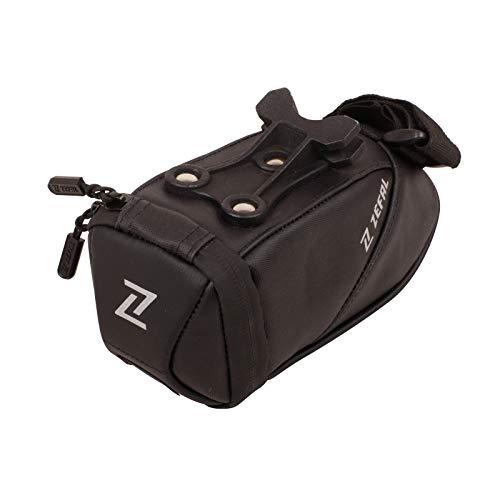 Zefal Iron Pack 2 TF Bolsa de sillín, Unisex, Negro, S