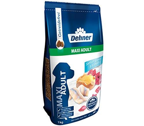 Dehner Premium Hundetrockenfutter Maxi Adult, Seefisch und Lamm mit Kartoffel, 12.5 kg
