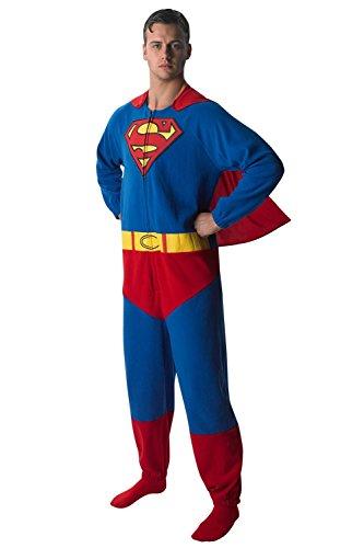 Rubie\'s 3880332 - Superman Onesie - Adult, Verkleiden und Kostüme, M