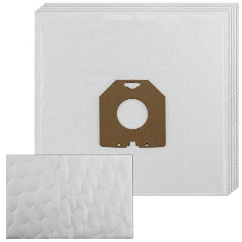 spares2go Mikrofasertuch Staubbeutel & Filter für Philips Staubsauger (5Stück)