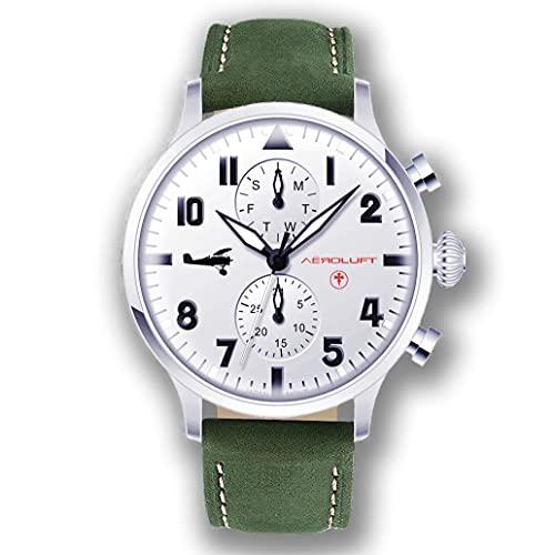 Reloj de Hombre Piloto Aviador Type 1 Billy Bishop
