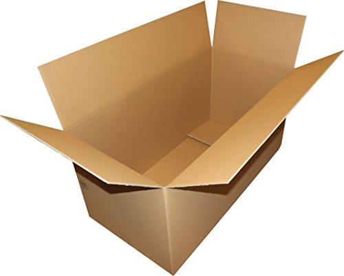 1 St. Faltkarton 1200x600x600 mm Umzugskartons 2.40 BC 2 wellig stabil Versandschachtel 120x60x60 cm Kiste Versandbox