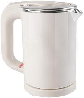 SCDZS Portable Voyage d'eau en Acier Inoxydable Chaudière Pot Bouilloire électrique avec 0.5L Mini Bouilloire électrique