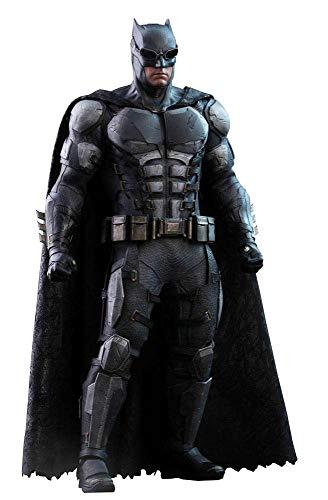 Hot Toys Figura Batman Tactical Batsuit Version 33 cm. La Liga de la Justicia. Escala 1:6. Movie Masterpiece