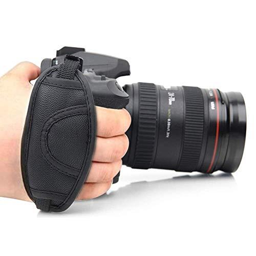 Electomania® Leather Adjustable Hand Grip Wrist Strap of DSLR Camera