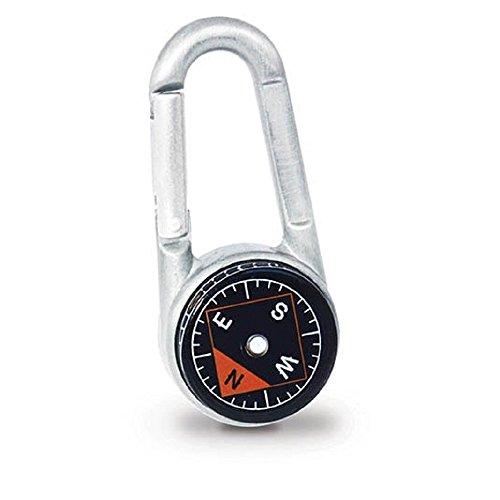 Unbekannt Gift Republic Wild Life Key Kompass mit Karabiner Outdoor, Grau, One Size