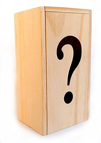 LOGICA GIOCHI Art. Scrigno ? - Rompicapo in Legno - Scatola Segreta - Difficoltà 5/6 Incredibile - Serie da Collezione Leonardo da Vinci
