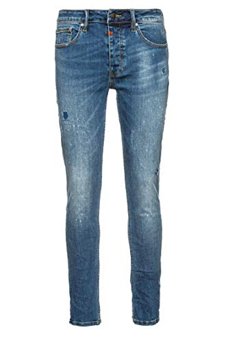 Tigha Herren Jeans Morty 9054 Blau 31/32