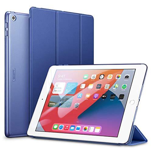 """ESR para iPad 7ª geração de capa, capa Yippee Trifold Smart para iPad 10.2""""2019 com função Auto Sleep/Wake, capa leve de suporte de visualização múltipla com capa dura - azul"""