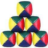 Sunnysam 6 Pezzi Giocoleria Palle Set per Principianti, qualità Mini Giocoleria Palle, Du...