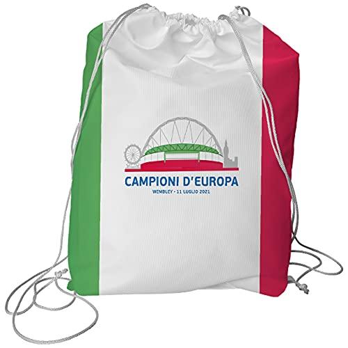 My Custom Style Sacca Porta Scarpe Opzionale per Borsone #Campioni d'europa #