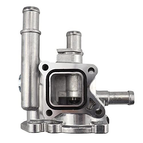 LIANGJIN Cubierta de aluminio del termostato de enfriamiento del motor para Cruze Opel Astra H J Aveo T300 96984103 96817255 55563530 JWQG003